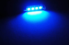 LED-Soffittenlampe Blau