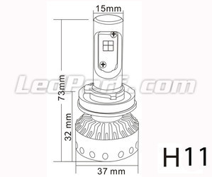Mini Led H11 Hochleistungs-LED Tuning