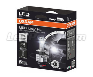 Packaging ampoules H7 LED Osram LEDriving HL Gen2 - 67210CW
