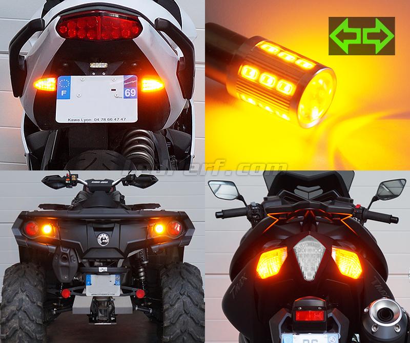 Zephyr 750 B20 E-Gepr/üft // 2St/ück KLX 650 LED Blinker kompatibel mit Kawasaki Zephyr 550
