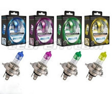 Pack de 2 Ampoules H4 Philips ColorVision