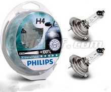 Pack de 2 Ampoules H4 Philips X-treme Power Vision +100%