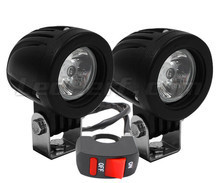 Phares additionnels LED pour scooter MBK Evolis 250 - Longue portée