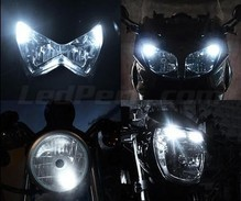 Pack veilleuses à led (blanc xenon) pour Buell Buell XB 12 S Lightning