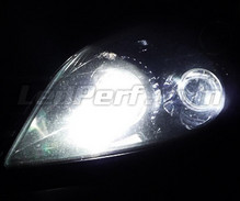 Pack veilleuses à led (blanc xenon) pour Opel Astra H