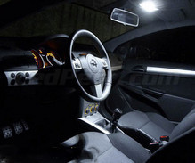 Pack intérieur luxe full leds (blanc pur) pour Opel Astra H TwinTop